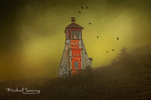 Margaree Harbour Front Range Light with textures